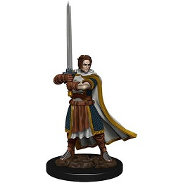 Dungeons and Dragons Fantasy Miniatures: Icons of the Realms Premium Figure: Male Human Cleric