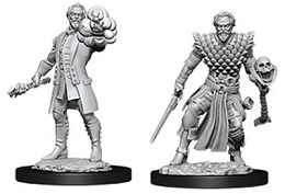 Dungeons and Dragons: Nolzur's Marvelous Unpainted Miniatures: Male Human Warlock