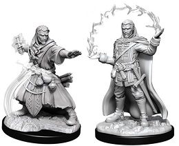 Dungeons and Dragons: Nolzur's Marvelous Unpainted Miniatures Wave 11: Male Human Wizard