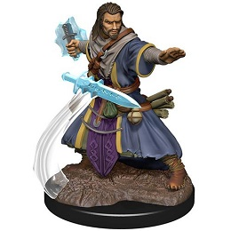 Dungeons and Dragons Fantasy Miniatures: Icons of the Realms Premium Figure: Human Male Wizard