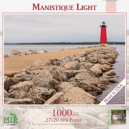 Manistique Light Puzzle (1000 Pieces)