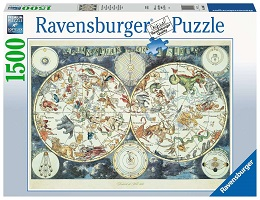 Map of the World Puzzle - 1500 Pieces