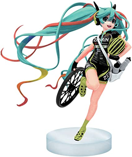 Hatsune Miku Racing Team PVC Figure