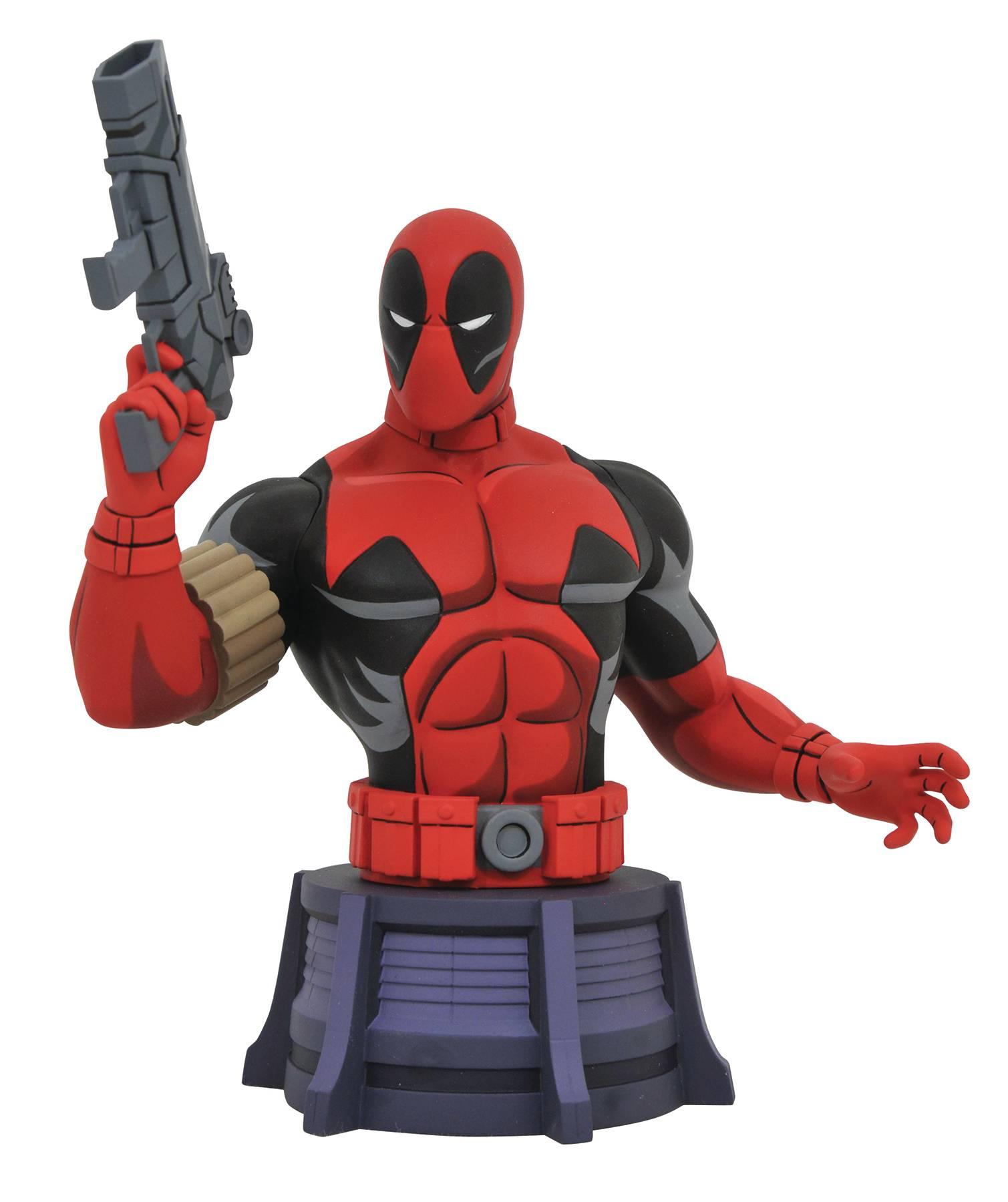 Animated X-Men: Deadpool Bust PVC Figure