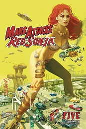 Mars Attacks Red Sonja no. 5 (2020 Series)