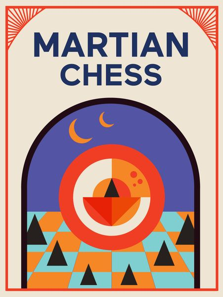 Martian Chess Board Game