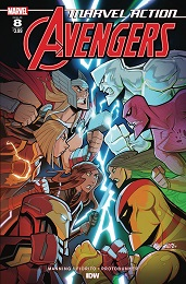 Marvel Action Avengers no. 8 (2018 Series)