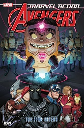 Marvel Action Avengers Book 3: The Fear Eaters TP