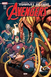 Marvel Action Avengers no. 11 (2018 Series)