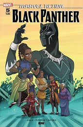 Marvel Action: Black Panther no. 5 (2019 Series)