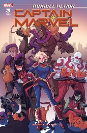 Marvel Action: Captain Marvel no. 3 (3 of 3) (2019 Series)