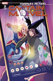 Marvel Action: Captain Marvel no. 2 (2021 Series)
