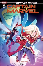 Marvel Action: Captain Marvel no. 6 (2019 Series)