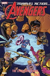 Marvel Action Avengers Book 4: The Living Nightmare TP