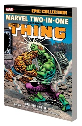 Marvel Two-In-One Epic Collection: The Thing Cry Monster TP