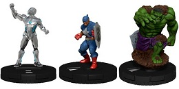 Marvel HeroClix: Captain America and The Avengers Booster