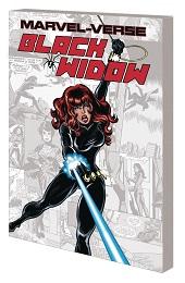 Marvel-Verse: Black Widow GN