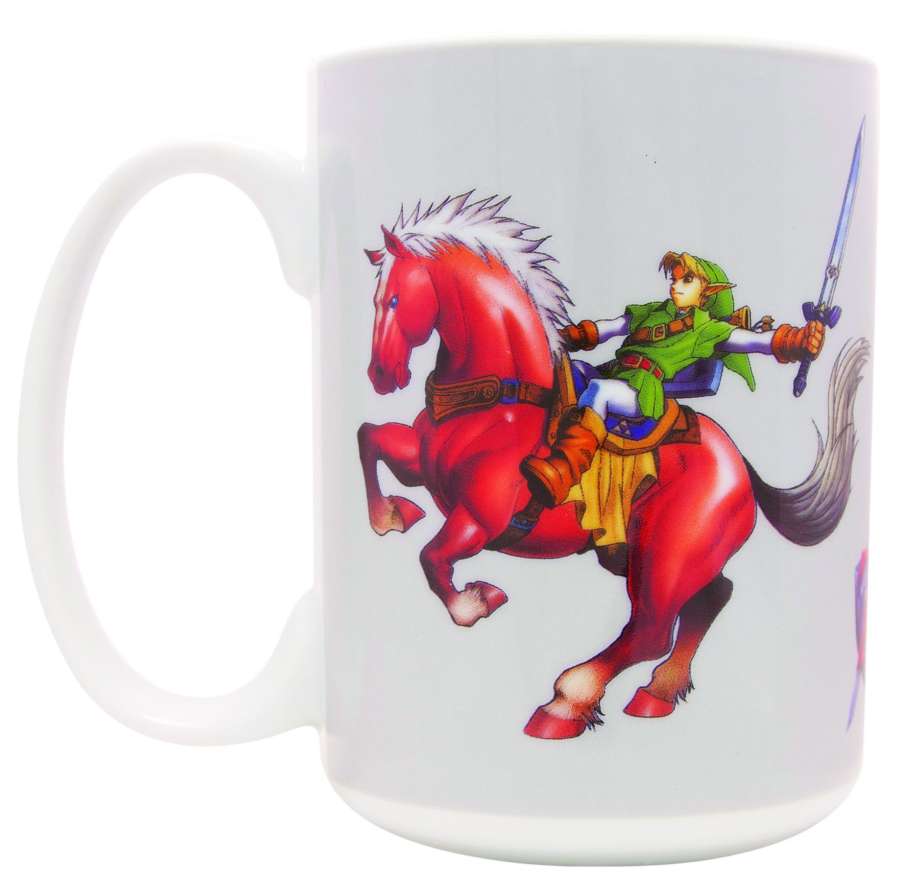 Legend of Zelda: Ocarina of Time: Link on Epona Mug