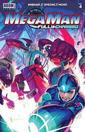 Mega Man Fully Charged no. 4 (2020 Series)