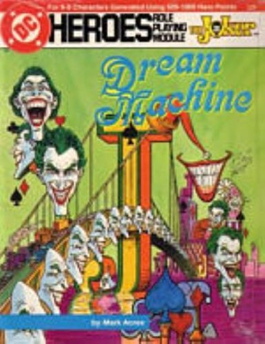 DC Heroes Role Playing Module: Dream Machine - Used