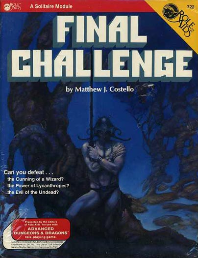 Role Aids: Final Challenge - Used