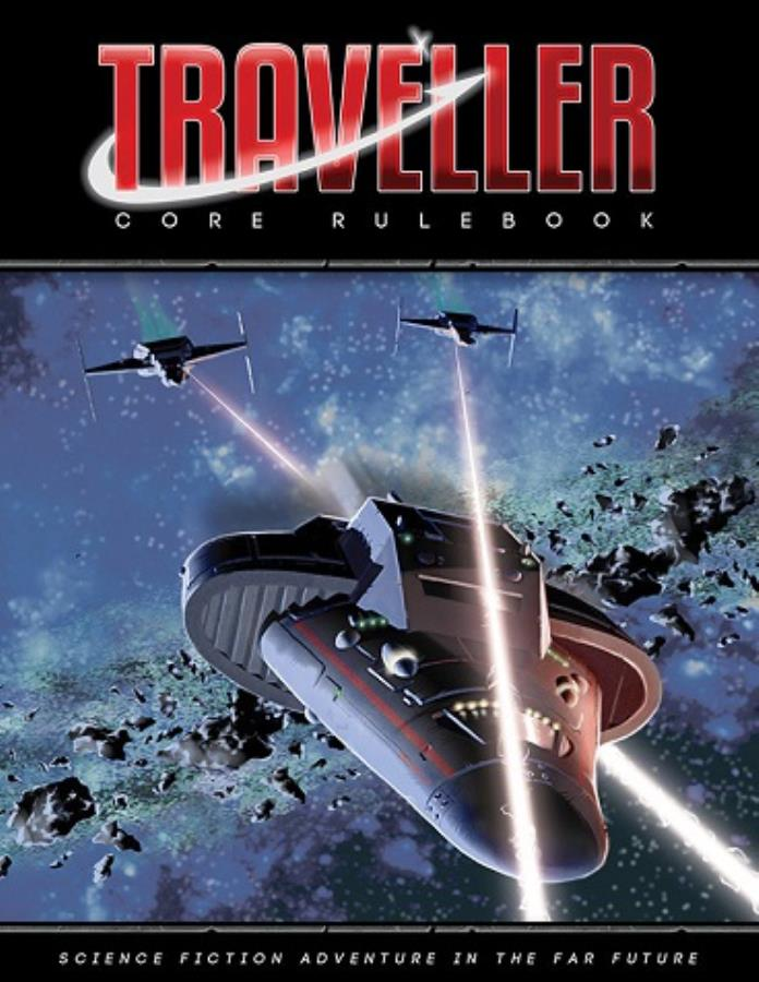 Traveller: Core Rulebook (3rd Printing) HC - Used