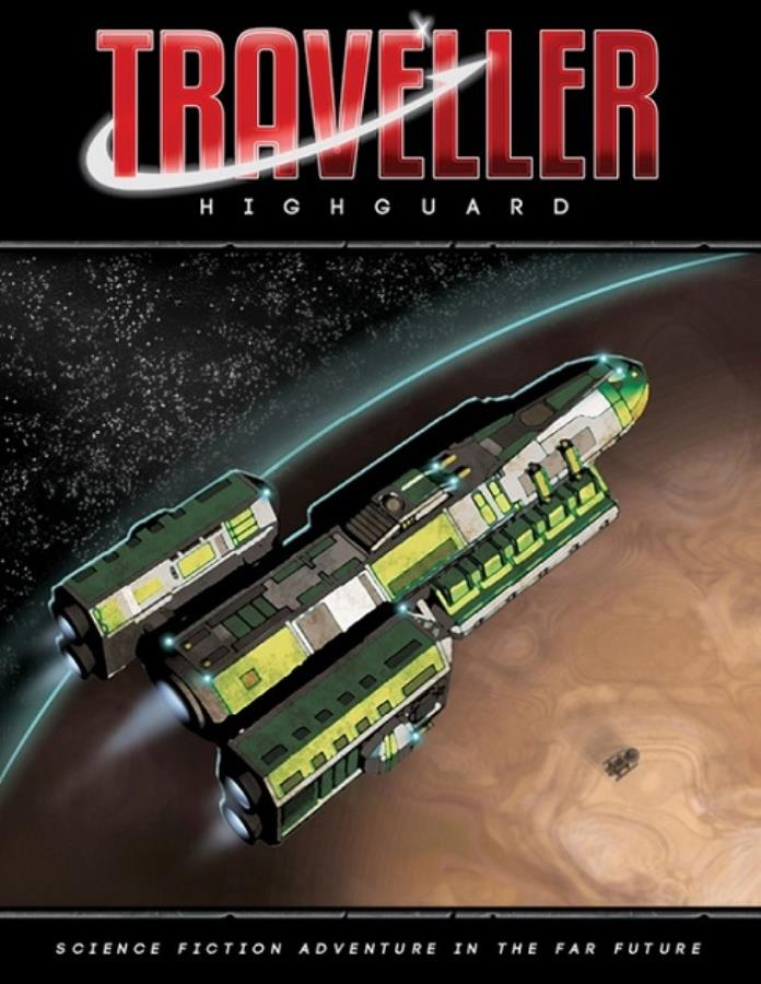Traveller 2nd Edition: High Guard - Used