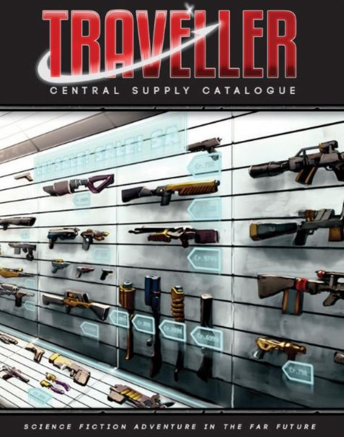 Traveller 2nd Edition: Central Supply Catalogue - Used