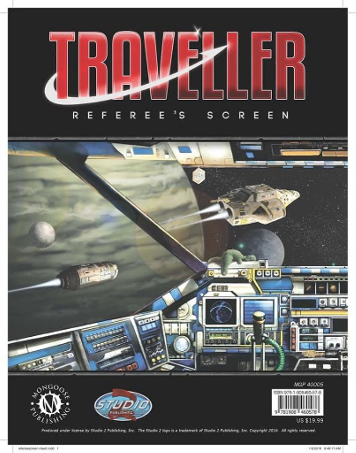 Traveller 2nd Edition: Referee's Screen - Used