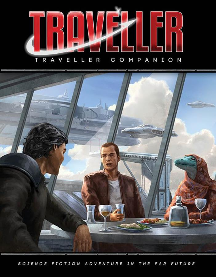 Traveller 2nd Edition: Traveller Companion - Used