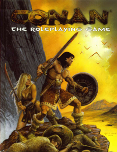 Conan the Roleplaying Game: Pocket Edition - Used