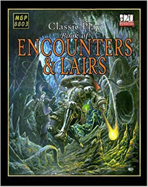 D20: Classic Play Book of Encounters and Lairs HC - Used