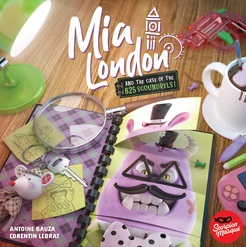 Mia London and the Case of the 625 Scoundrels Board Game