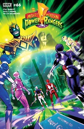 Mighty Morphin no. 6 (2020 Series) (B Cover)