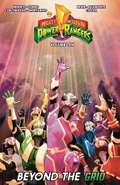 Mighty Morphin Power Rangers Volume 10: Beyond the Grid TP