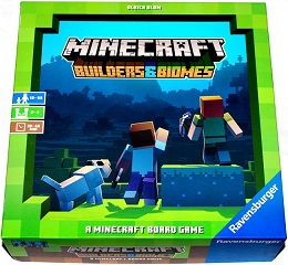 Minecraft: Builders and Biomes Board Game