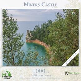 Miners Castle Puzzle (1000 Pieces)