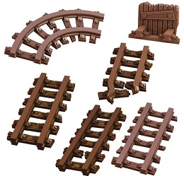 Terrain Crate: Mine Track