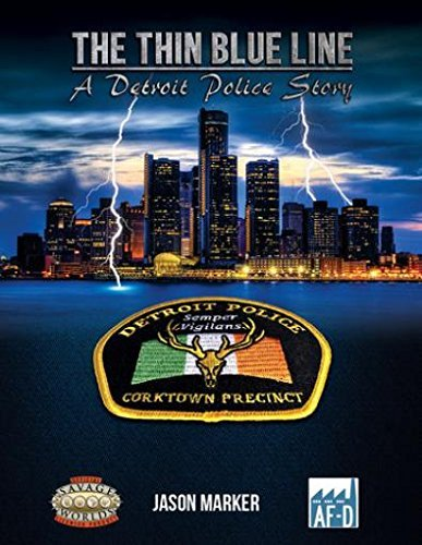 The Thin Blue Line: A Detroit Police Story - Used