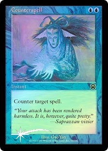 Counterspell - (Mercadian Masques)