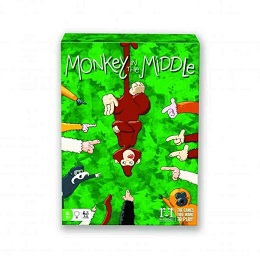 Monkey in the Middle Card Game