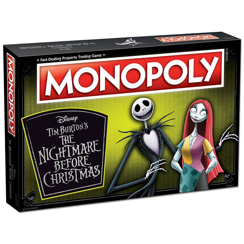 Monopoly: The Nightmare Before Christmas Board Game