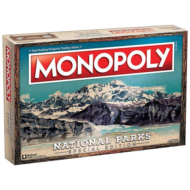 Monopoly: National Parks Edition Board Game