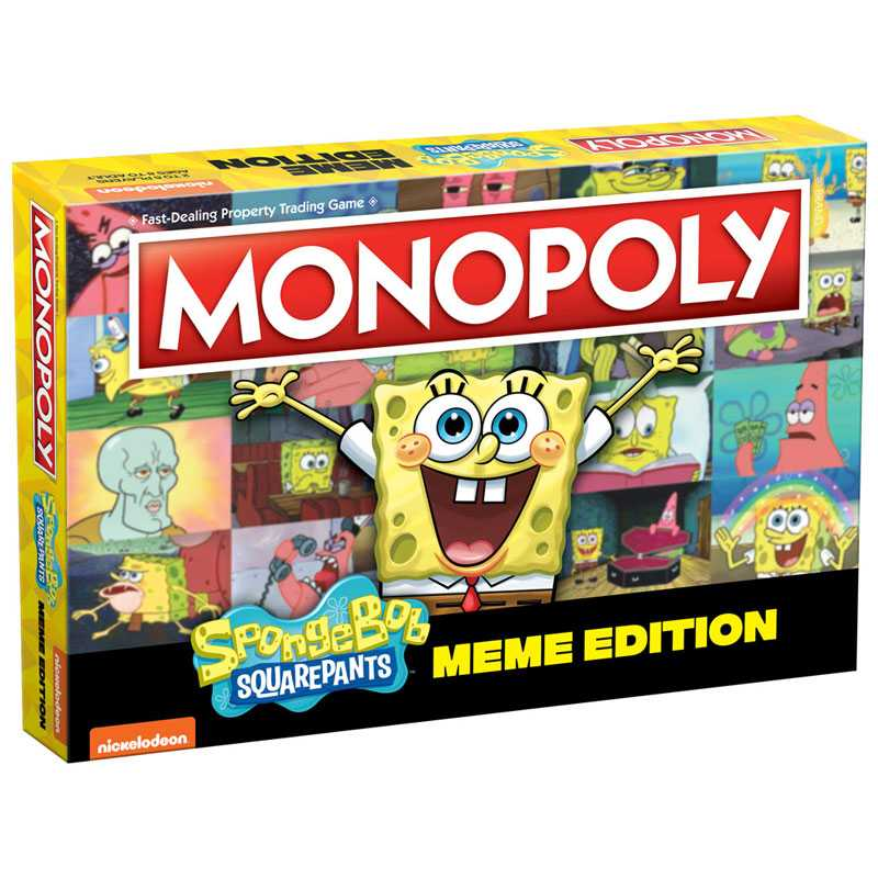 Monopoly: Spongebob Squarepants Meme Edition