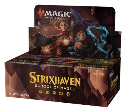 Magic the Gathering: Strixhaven: School of Mages Draft Booster Box (36 packs)