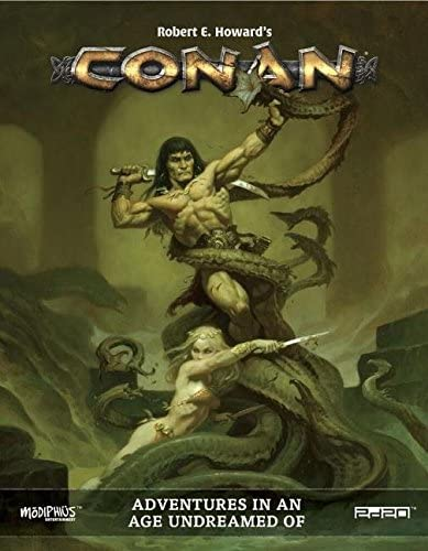 Conan Role Playing Game: Adventures in an Age Undreamed of - Used