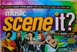 Music Scene It? Board Game - USED - By Seller No: 3901 Sean Thomas