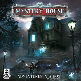Mystery House Board Game