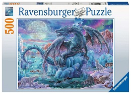 Mystical Dragons Puzzle - 500 Pieces