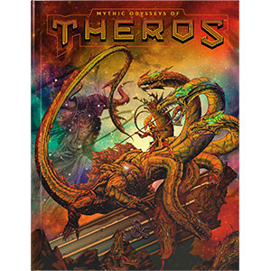 Dungeons and Dragons 5th Ed: Mythic Odysseys of Theros (Exclusive Retail Store Edition)